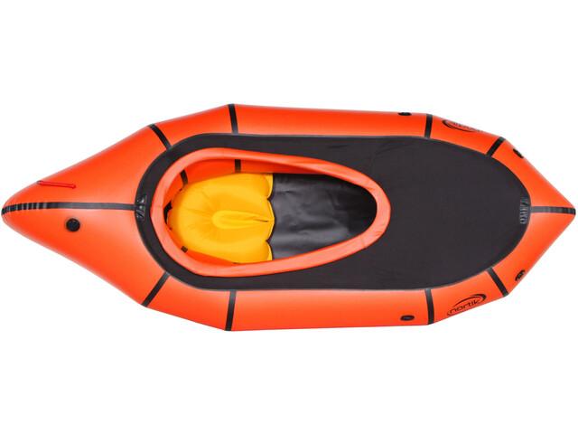 nortik TrekRaft Canot pneumatique Avec Deck, orange/black